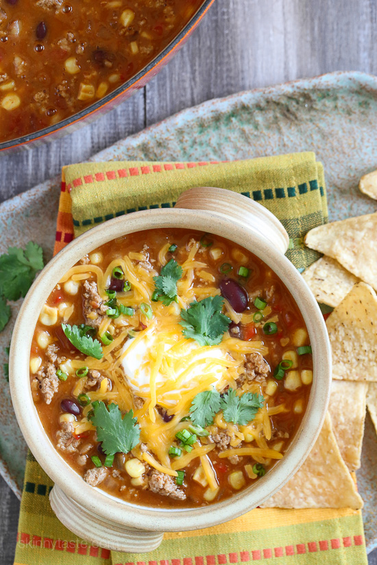 Menu Monday – Turkey Chili Taco Soup | CrossFit Pineville
